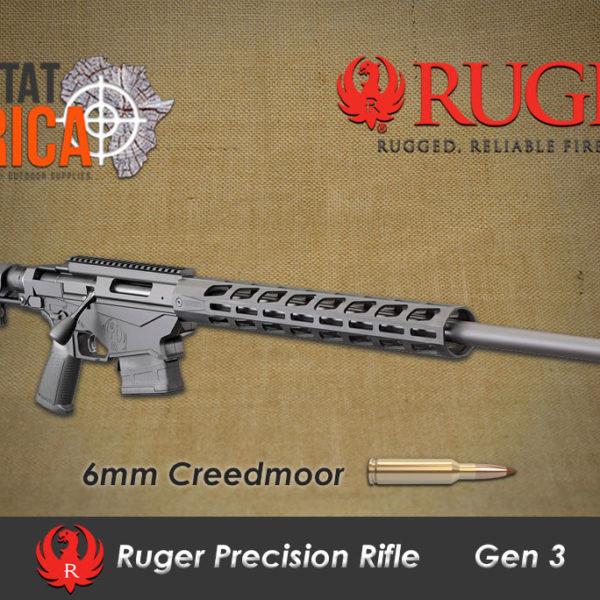 Ruger Precision Rifle 6mm Creedmoor Habitat Africa
