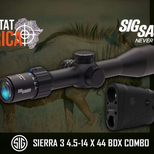 Sigsauer Sierra 3 BDX Combo