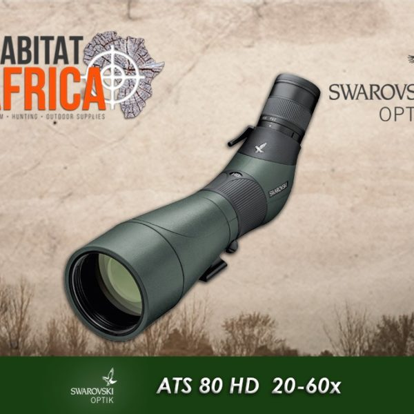 Swarovski ATS 80 HD 20-60x Spotting Scope Habitat Africa