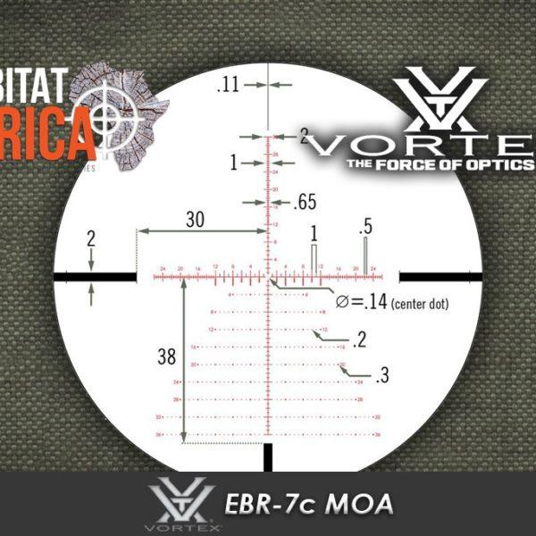 Vortex EBR 7c MOA Reticle Habitat Africa