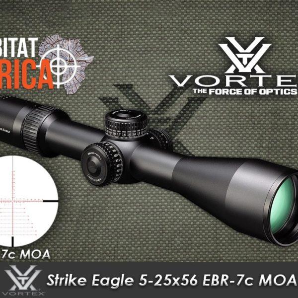 Vortex Strike Eagle 5-2x56 EBR 7c MOA Habitat Africa