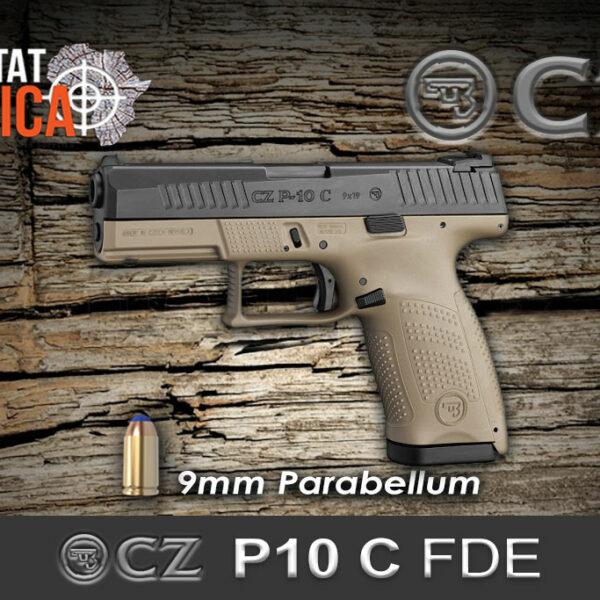 CZ-P10-C-FDE-9mm-Parabellum-Habitat-Africa