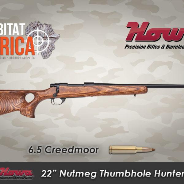 Howa-22-inch-6.5-CreHowa-22-inch-6..5-Creedmoor-Nutmeg-Thumbhole-Hunter-Habitat-Africaedmoor-Nutmeg-Thumbhole-Hunter