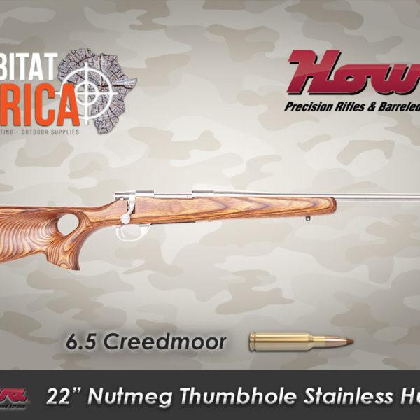Howa-22-inch-6.5-Creedmoor-Nutmeg-Thumbhole-Stainless-Hunter-Habitat-Africa