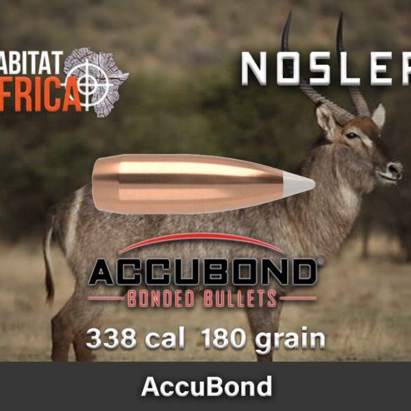 Nosler Accubond 338 180gr Habitat Africa