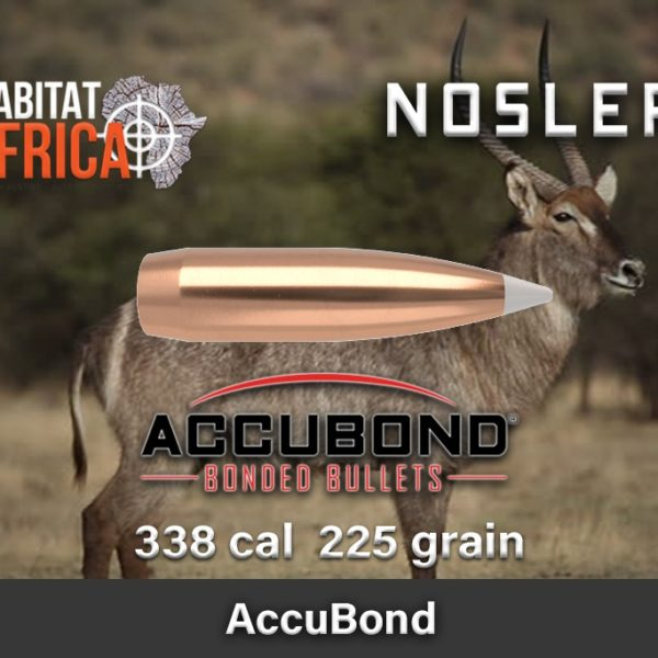 Nosler Accubond 338 225gr Habitat Africa