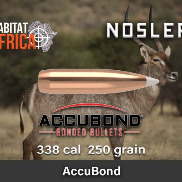 Nosler Accubond 338 250gr Habitat Africa