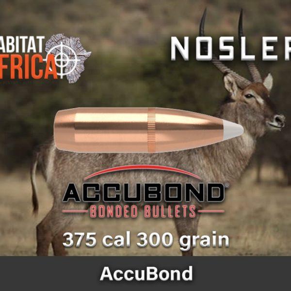 Nosler Accubond 375 300gr Habitat Africa