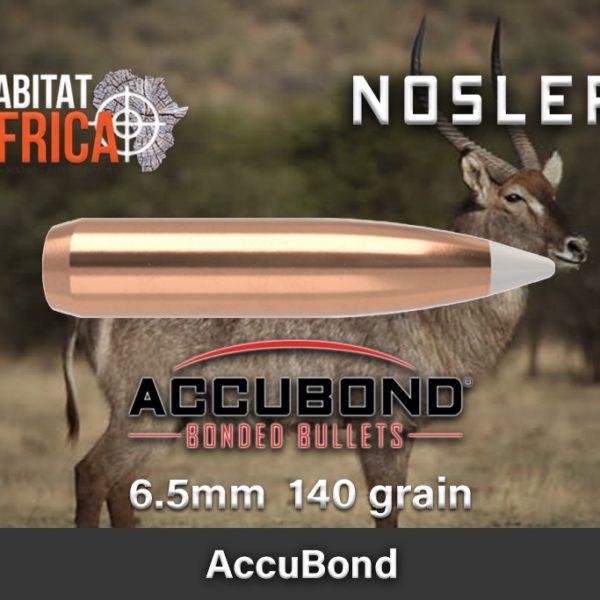 Nosler Accubond 6.5 140gr Habitat Africa