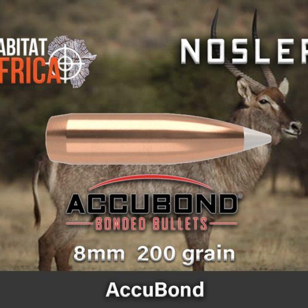 Nosler Accubond 8 200gr Habitat Africa