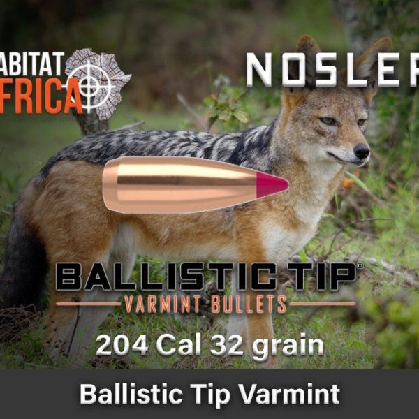 Nosler-Ballistic-Tip-Varmint-204-Cal-32-grain-Habitat-Africa-1