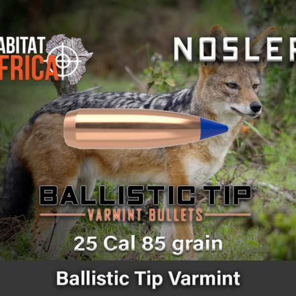 Nosler-Ballistic-Tip-Varmint-25-Cal-85-grain-Habitat-Africa-1