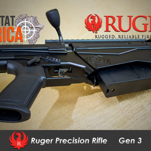 Ruger Precision Rifle bottom Habitat Africa