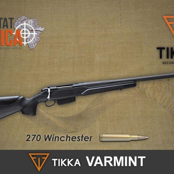 Tikka Varmint 270 Win