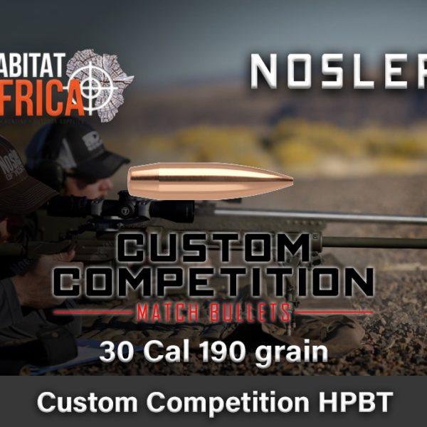 Nosler-Custom-Competition-HPBT-30-Cal-190-grain-Habitat-Africa-1