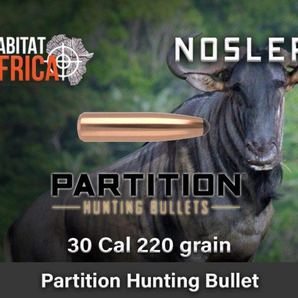 Nosler-Partition-Spitzer-30-Cal-220-grain-Habitat-Africa-1-new