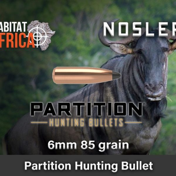 Nosler-Partition-Spitzer-6mm-85-grain-Habitat-Africa-1